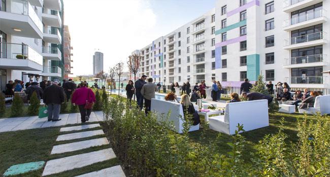Park MOZAİK'te farklı mimari çözümler.