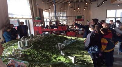 Marina Ankara için yapılan konut maketi büyük ilgi görüyor
