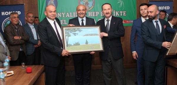 Konyalılar, Konya İnşaat Fuarı İçin İzmir'de Toplandı!