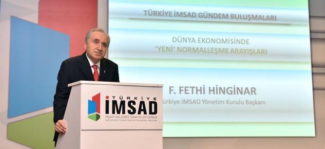 Türkiye İMSAD gündeminde ' Yeni Normalleşme' vardı!